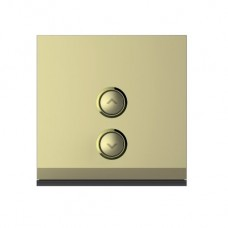 2-Gang ON / OFF Switch (Gold)