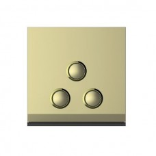 3-Gang ON / OFF Switch (Gold)